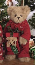 "Bearington Bears ""Puppy Love"" 14"" Christmas Collector Bear- Sku#1578 - NWT- 2005 image 2"
