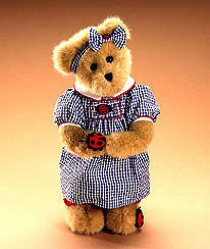 """Boyds Bears """"Lady B. Bugsley"""" #904801 - 12"""" Plush Bear -2008-NWT-Retired"""