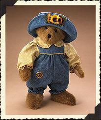 "Boyds Bears ""Sunshine Q Bearsley"" 16"" Bear of Month-  #919847- NWT-2006-Retired"