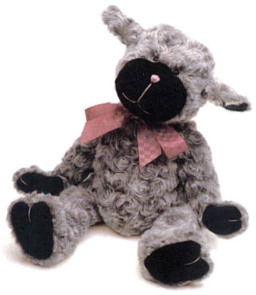 "Boyds Bears ""Lucibelle Fuzzyfleece"" #55203-06 - 14"" Plush Lamb-NWT- Retired"