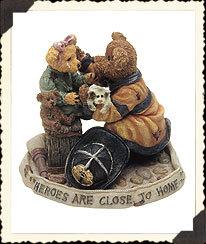 "Boyds Bearstone ""Chief Buckley w/Jennifer...To The Rescue"" #227751-1E-NIB-2000 image 2"