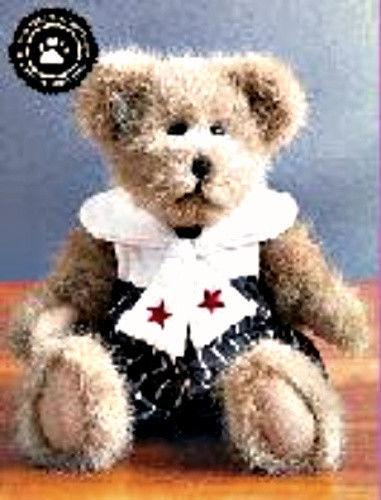 """Boyds Bear """"Skipper P. Bridgeport"""" - 12"""" POG Plush Bear-   Retired"""