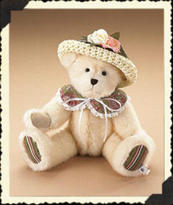 """Boyds Bears """"Kayleigh Marie Paisley""""- 10"""" Plush Bear  #904614 -NWT- 2007-Retired"""