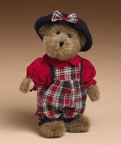 "Boyds Bears ""Brianna B Bearican""  10"" Americana Bear- #919831- NWT- 2004-Retired"