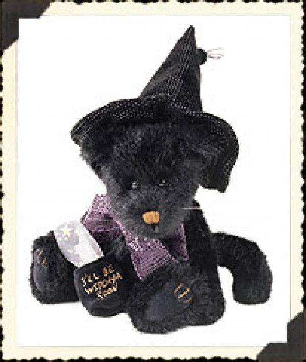 """Boyds Bears """"Zelda Z Witchypuss"""" - 11"""" Plush Cat -  #919790- NWT -2001 -Retired"""