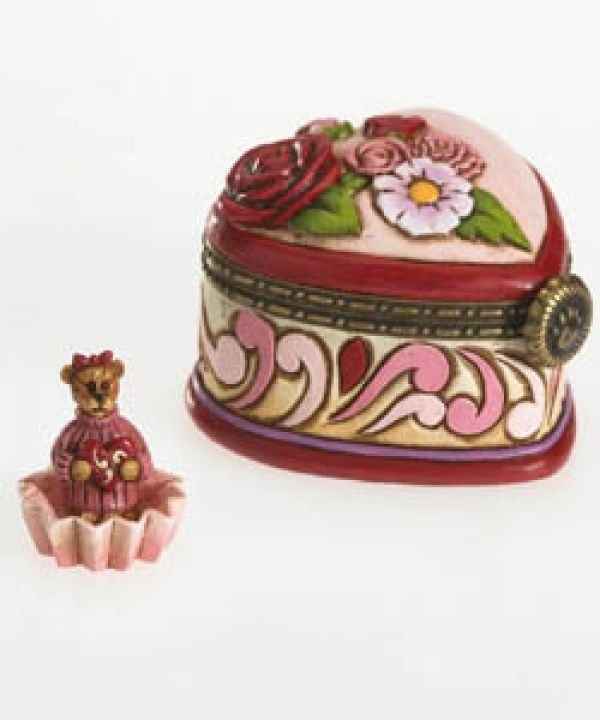 "Boyds Treasure Box ""Rosalie's Candy Box.. Oh So Sweet"" #4026266- NIB-2011 image 2"