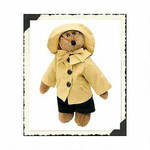 "Boyds Bears ""Bumbershoot B. Jodibear"" 8"" Artisian Bear-  #92000-03- New- Retired"