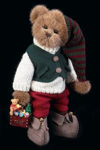 "Bearington Bears ""Mr. Bear Jingles"" 14"" Collectible Bear- Sku#1474 - NWT- 2004 image 2"