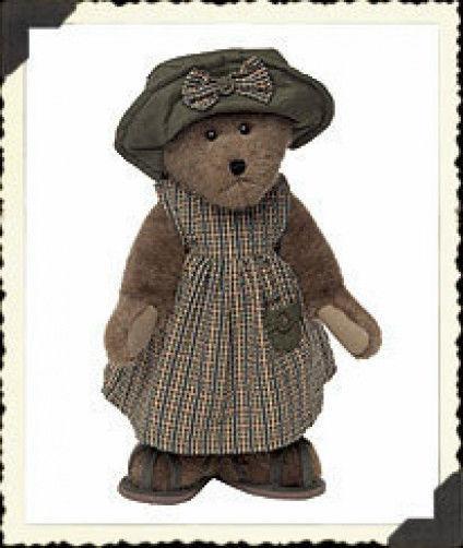 "Boyds Bears ""Shawnee Fisher""  #904130 -16"" Plush Bear -NWT-2003 -Retired"