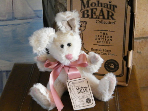 "BOYDS MOHAIR RABBIT ""DOLLY Q. BUNNYCOMBE"" LTD#590150-01 image 1"