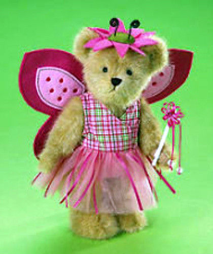 "Boyds Bear ""Marisol Flutterlee"" 10"" Plush Bear - #4013337 ~-NWT - 2008-Retired"