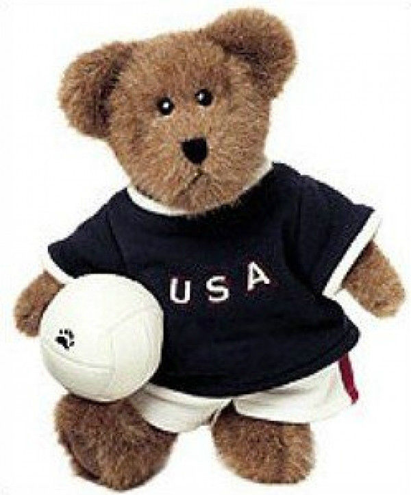 "Boyds Bears ""Pat T. Spiker"" - 11"" Plush Bear - #903502 - NWT-  2002- Retired image 1"