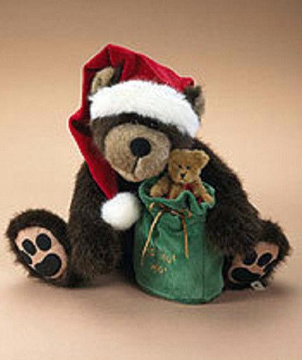 "Boyds Bears ""Bubba Kringle""  #919875 - 14"" Plush Bear- NWT- 2006- Retired"