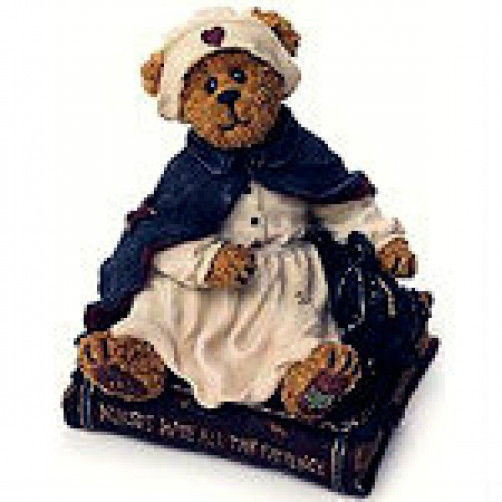 "Boyds Bearstone ""Florence Gentlecare..Touching Lives"" #228405 -1E-NIB - Retired"