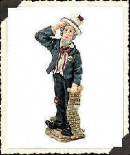 "Boyds Bears Folkstone ""Uncle Sam..I've Got the April 15th Blues"" #28253- 2E- NIB"