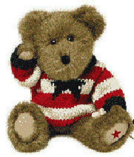 "Boyds Bears""G. W. Bearyproud"" 99871V- QVC Patriotic Plush Bear-NWT -Retired"