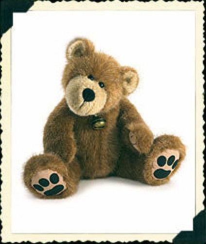 "Boyds Bears ""Bubba Ray"" 02005-90 - 14"" Plush Bear -2005- NWT- Retired"