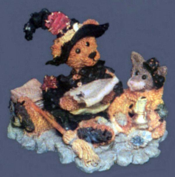"Boyds Bearstone ""Emma.. The Witchy Bear""  #2269- 1E - NIB-  1995- Retired"