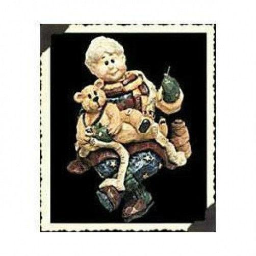"Boyds Bear Carvers Choice ""Mrs. C. w/Bobbin..As Good as* #370107*1E*NIB*Retired"