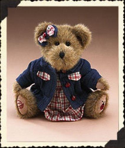 "Boyds Bears ""Blanche Steadsbeary"" 95310LB"" 10"" Longaberger LE Bear~2005~NWT"