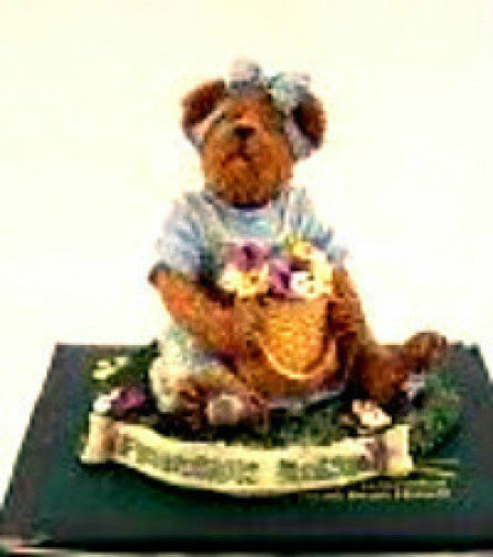 "Boyds Bearstone ""Ima Bestfriend.. Forever"" Longaberger #2277933LB-LE-New-Retired image 1"