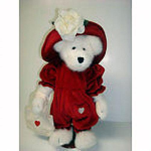 "Boyds Bears ""Hanah"" #99334V-  14"" QVC Plush Bear -NWT - 2000 -  Retired"