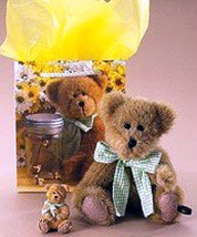 "Boyds Bears ""Georgie"" LIL' SUMPTIN' Gift Set"" #573012- Bear-Magnet- NIB- Retired - $12.99"