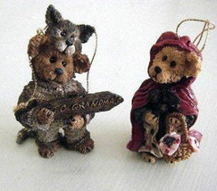 "Boyds Bears ""Bailey & Matthew Ltd. Edition"" 1997 Ornament set * #9229RSN... - $19.99"