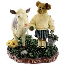 """Boyds Bearstone """"Ginny Mae McBearsley w/ Bessie..Down Home Friends""""  #4022169- - $39.99"""