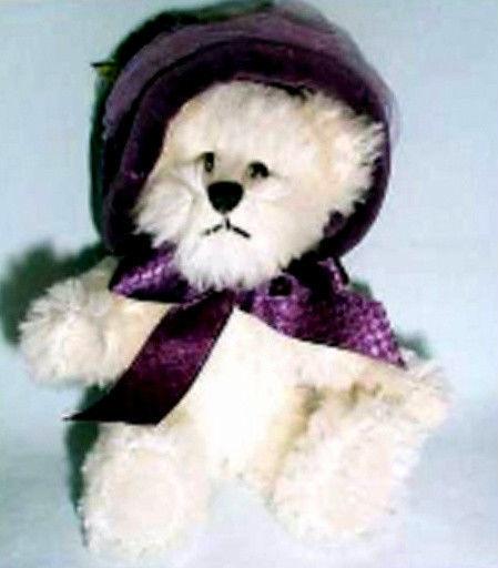 """Boyds Bears """"Anna Eleanor Bearington"""" 6"""" QVC Mohair Exclusive- #93290V- NWT-2002"""