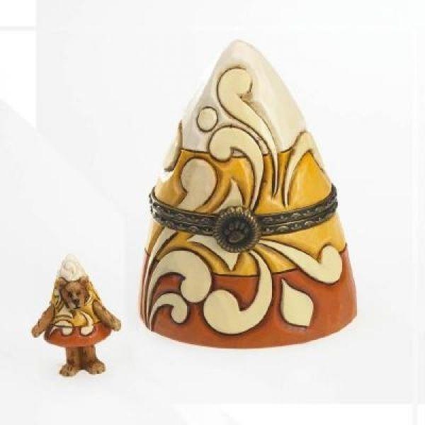"""Boyds Treasure Box """"Trickster's Candy Corn w/C C Sugarnip"""" #4022301-1E-NIB-2011"""