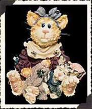 "Boyds Purrstone ""Maddie Purrkins with Puddytat...Cat Nap"" #371001- 1E- NIB-Ret image 1"