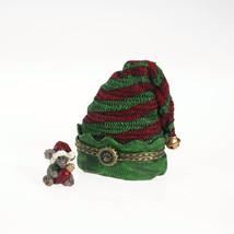 "Boyds Treasure Box ""Elvie's Hat w/ Twinkle McNibble"" #4034150-1E- NIB- 2011 - $22.99"