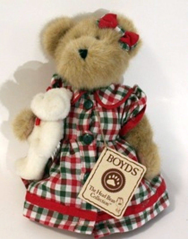 "Boyds Bears ""Momma Merrybright w/Noel"" 10"" QVC Exclusive- #99052V- NWT-2004"