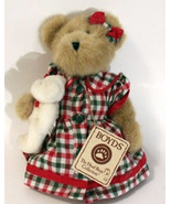 """Boyds Bears """"Momma Merrybright w/Noel"""" 10"""" QVC Exclusive- #99052V- NWT-2004 - $39.99"""