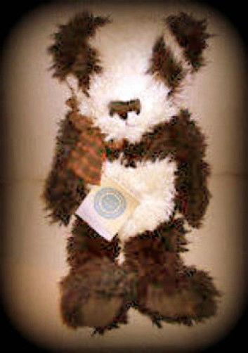 "Boyds Bear ""Dewey P Wongbruin"" #5154  16"" Plush Panda Bear- 1999  NWT - Retired"