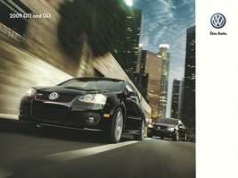 2009 Volkswagen GTI and GLI sales brochure catalog US 09 VW 2.0T Jetta - $10.00