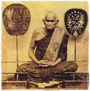 LP NGERN THAI BUDDHA REAL AMULET PENDANT LUCKY RICH SUCCESS THAILAND FAMOUS MONK