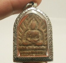 LP JUER JAOSUA MILLIONAIRE BUDDHA THAI REAL AMULET LUCKY RICH SUCCESS HAPPY LIFE image 1
