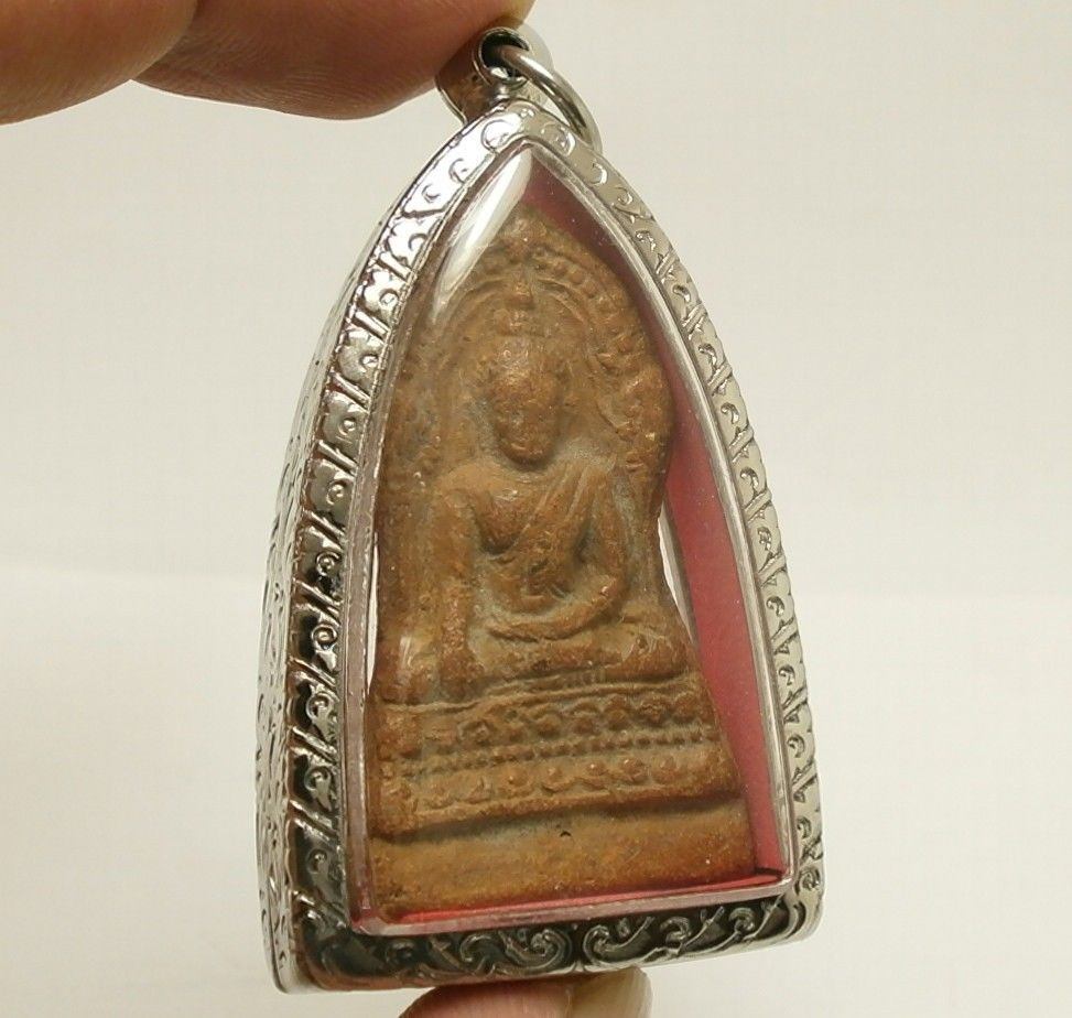 LORD BUDDHA BLESSING AMULET THAI POWERFUL LOVE HARMONY ATTRACTION LUCKY PENDANT image 2