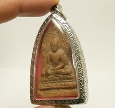 LORD BUDDHA BLESSING AMULET THAI POWERFUL LOVE HARMONY ATTRACTION LUCKY PENDANT image 3