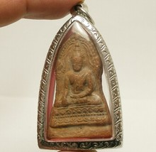 LORD BUDDHA BLESSING AMULET THAI POWERFUL LOVE HARMONY ATTRACTION LUCKY PENDANT image 1