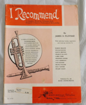 I Recommend - Bass Clarinet - Book 1 - Ployhar - $8.50