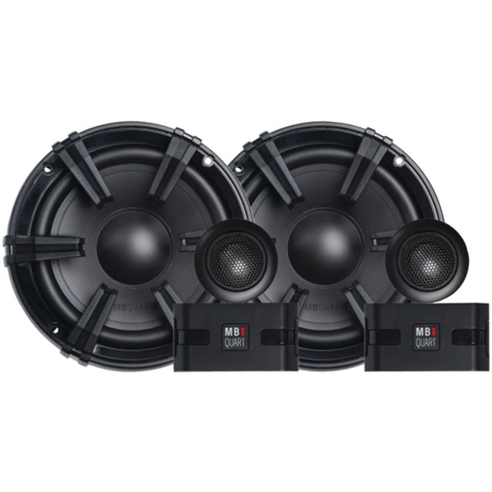 MB Quart DC1-216 Discus Series 6.5 90-Watt Component Speaker System with 1 Tweet