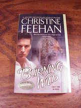 Leopard Series PB Books by Christine Feehan, 3, 5, Burning Wild, Savage Nature image 2