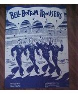 Sheet Music Bell Bottom Trousers Piano Great Co... - $4.99