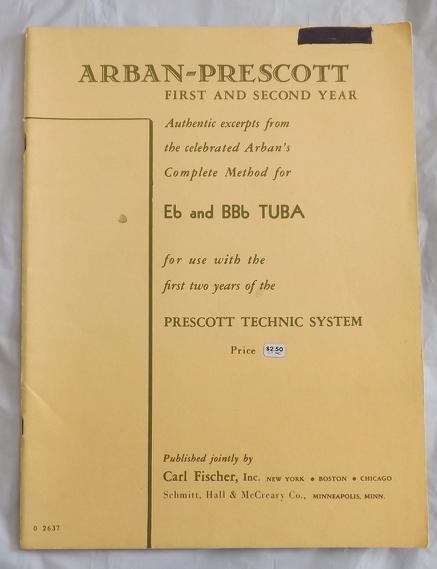 Arbon-Prescott Eb & BBb Tuba Book