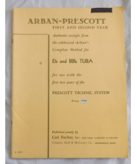 Arbon-Prescott Eb & BBb Tuba Book - $8.50