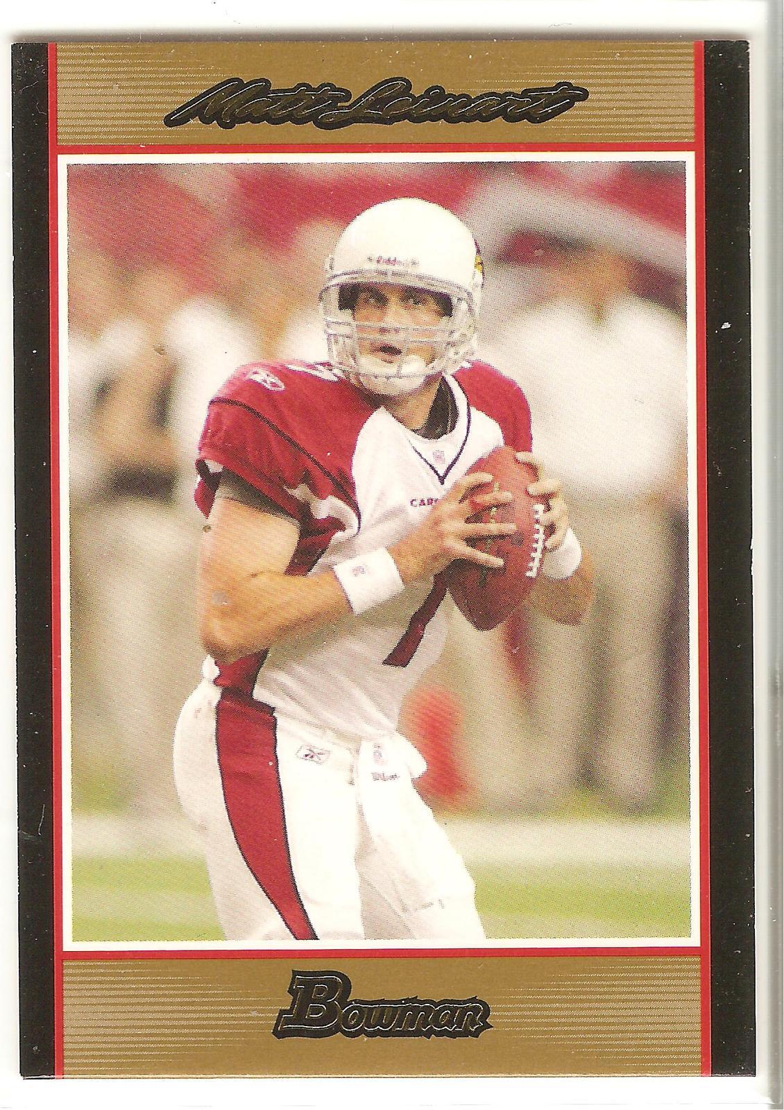 Matt Leinard Bowman 2007 #1 Gold Parallel Arizona Cardinals