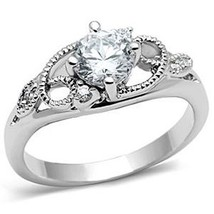 Garland Design Solitaire Cubic Zirconia Engagement Ring SIZE 5 to 9 image 1